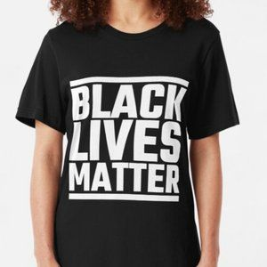 Plus Black lives matter top
